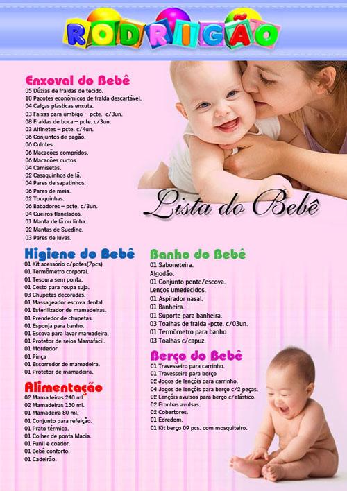 listas de bebe: